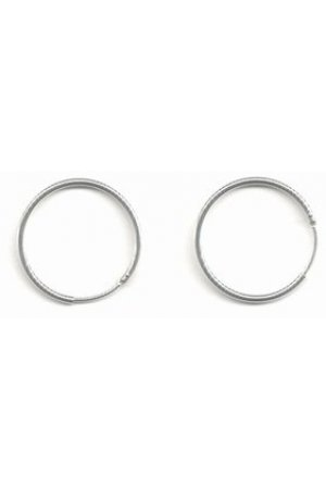 Robimex Collection Creolen  Ronde Buis 20mm – Zilver
