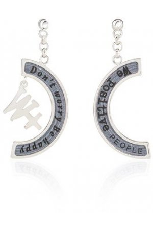 We Positive™ Earrings Grey ER001