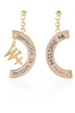 We Positive™ Earrings Powder ER004