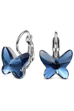 Yolora sieraden - Oorbellen set met Crystals from Swarovski ® - Butterfly - Dutch Beauty Design